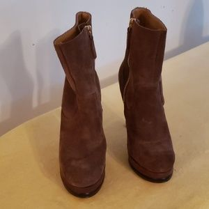 Nine West Suede Ankle Boots